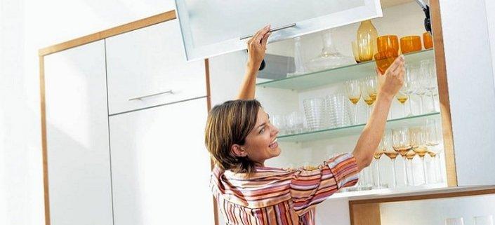 Подъемные механизмы для навесных шкафов